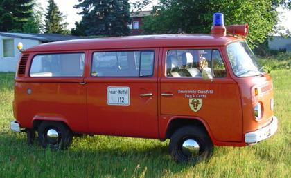 Kommandowagen 3 - alt VW T1 - 1-05-3